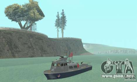 Coast Guard Patrol Boat para GTA San Andreas