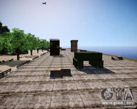 LC Crash Test Center para GTA 4 sexto de pantalla