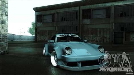 Porsche 911 Turbo RWB DS para la visión correcta GTA San Andreas