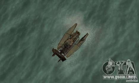 HL2 Airboat para la visión correcta GTA San Andreas