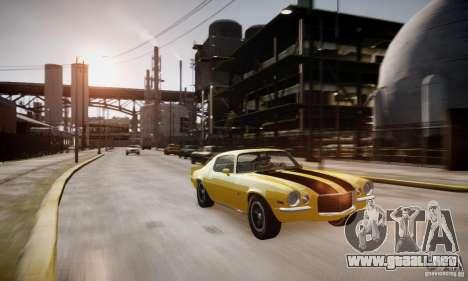 Chevrolet Camaro Z28 para GTA 4 vista lateral