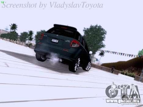 Suzuki SX4 Sportback 2011 para la visión correcta GTA San Andreas