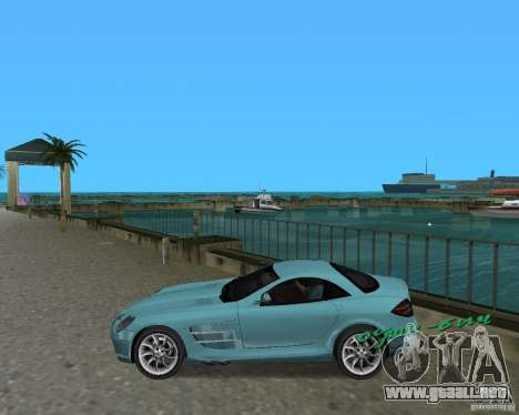 Mercedess Benz SLR Maclaren para GTA Vice City left