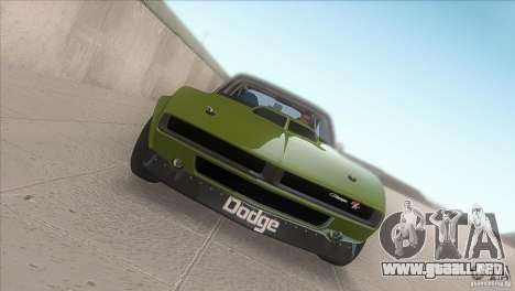 Dodge Charger RT SharkWide para visión interna GTA San Andreas