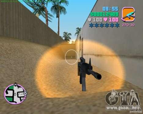 M4 de Counter Strike Source para GTA Vice City segunda pantalla