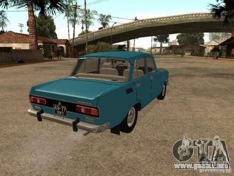 AZLK 2140 v2 para GTA San Andreas vista posterior izquierda