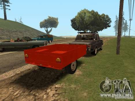 MMW 81021 para GTA San Andreas vista posterior izquierda