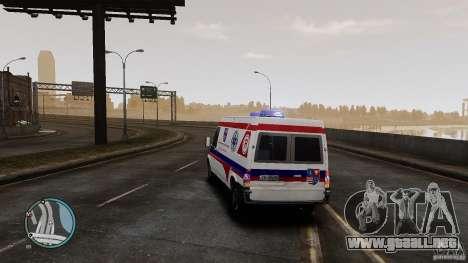 Ford Transit Ambulance para GTA 4 visión correcta