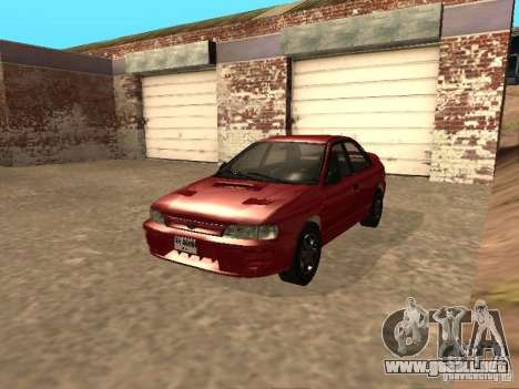 Subaru Impreza WRX STI 1995 para GTA San Andreas