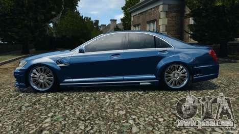 Mercedes-Benz S W221 Wald Black Bison Edition para GTA 4 left