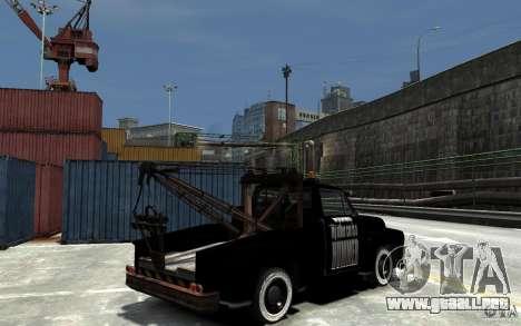 Black Towtruck para GTA 4 visión correcta