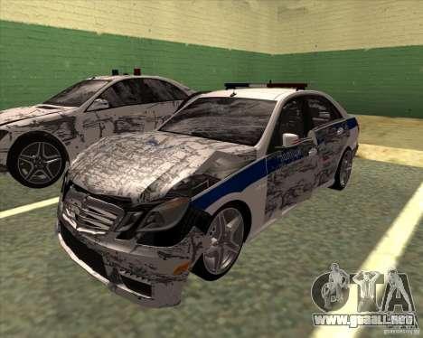 Mercedes-Benz E63 AMG W212 para vista lateral GTA San Andreas