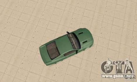 Saleen S281 v2 para GTA San Andreas vista hacia atrás
