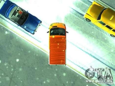 Vauxhall Vivaro v1.1 TNT para GTA San Andreas vista hacia atrás