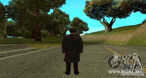Vito Corleone para GTA San Andreas segunda pantalla
