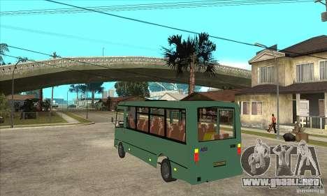 SURCO 3203 para GTA San Andreas vista posterior izquierda