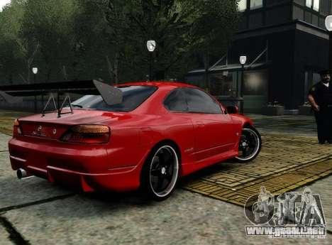 Nissan Silvia S15 para GTA 4 visión correcta