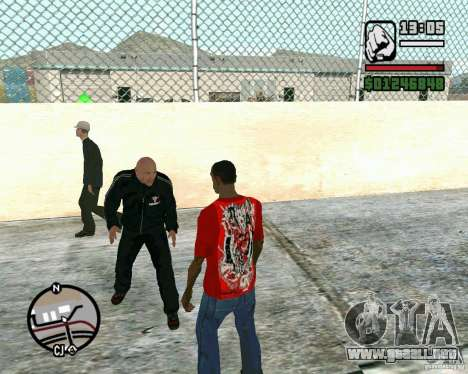Dwayne The Rock Johnson para GTA San Andreas segunda pantalla