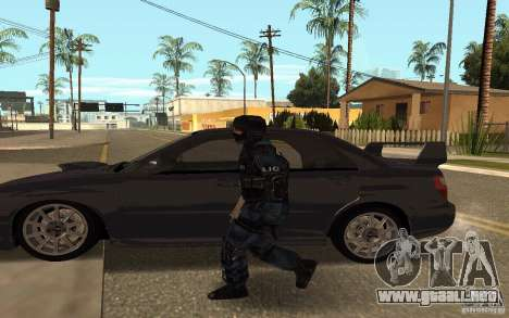 Alternative urban para GTA San Andreas quinta pantalla