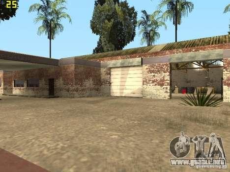 Servicio de coche cerca de Grove para GTA San Andreas quinta pantalla