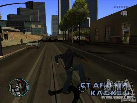 GTA IV TARGET SYSTEM 3.2 para GTA San Andreas sucesivamente de pantalla