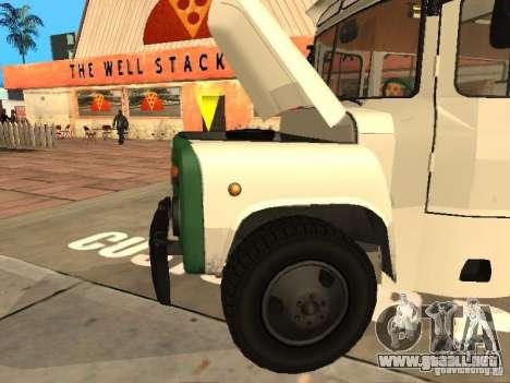 Kavz 685 para GTA San Andreas vista hacia atrás