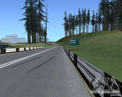 Carretera signos v1.1 para GTA San Andreas tercera pantalla