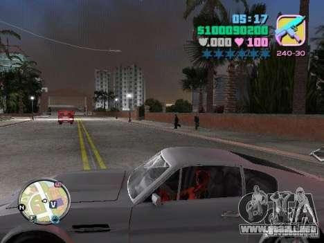Deadpool para GTA Vice City tercera pantalla