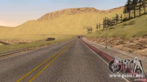 New HQ Roads para GTA San Andreas décimo de pantalla