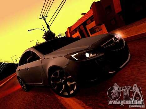 Opel Insignia para visión interna GTA San Andreas