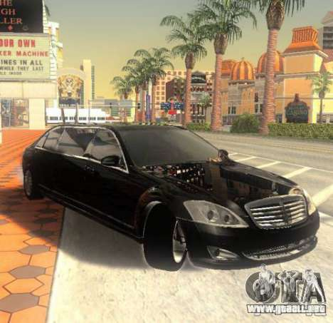 Mercedes-Benz Pullman (w221) SE para GTA San Andreas