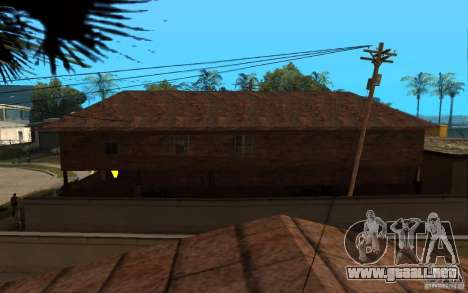S.T.A.L.K.E.R House para GTA San Andreas tercera pantalla