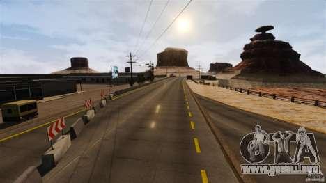 Ambush Canyon para GTA 4 adelante de pantalla