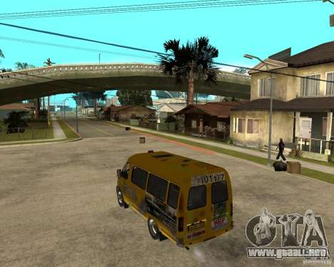 Gaz gacela 2705 Minibus para GTA San Andreas left
