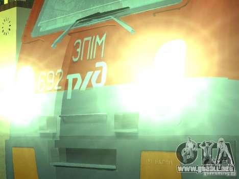 ÈP1M-392 OJSC «RUSSIAN RAILWAYS» para la visión correcta GTA San Andreas