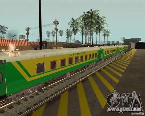 Coche de pasajeros no. 05808915 para la visión correcta GTA San Andreas