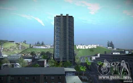 Rascacielos de HD para GTA San Andreas quinta pantalla