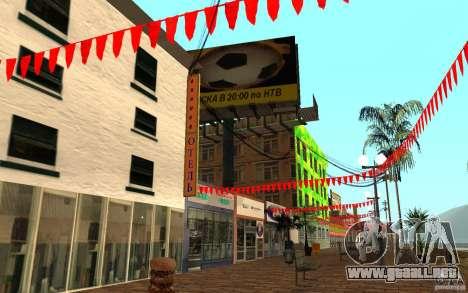 Calle playa nueva para GTA San Andreas