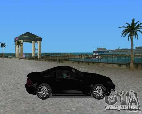 Mercedess Benz SL 65 AMG Black Series para GTA Vice City visión correcta