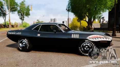 Plymouth Cuda 1971 [EPM] Mopar para GTA 4 left