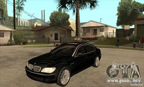 BMW 760Li (e66) SE para GTA San Andreas