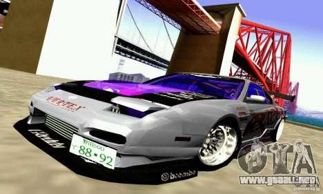 Nissan 150SX Drift para visión interna GTA San Andreas