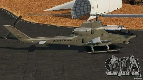 Bell AH-1 Cobra para GTA 4 left