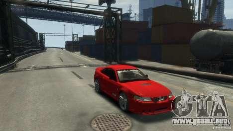 SALEEN S281 para GTA 4 Vista posterior izquierda