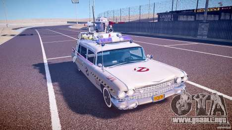 Ecto-1 (Cazafantasmas) Final para GTA 4 vista interior