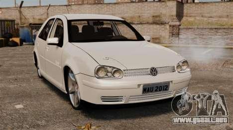 Volkswagen Golf Flash Edit para GTA 4