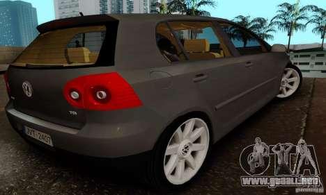 Volkswagen Golf 5 TDI para GTA San Andreas left