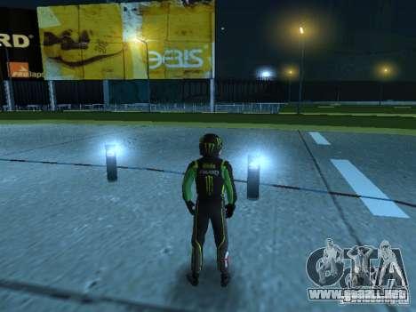 Falken Monster Energy PED para GTA San Andreas segunda pantalla