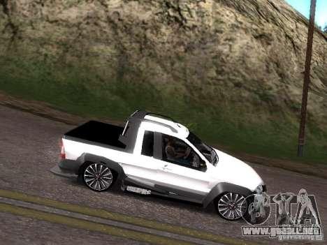 Fiat Strada para la visión correcta GTA San Andreas
