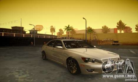 Lexus IS 300 para GTA San Andreas left
